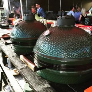 Big Green Egg barbecues