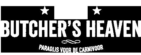 Butcher's Heaven logo zonder mes